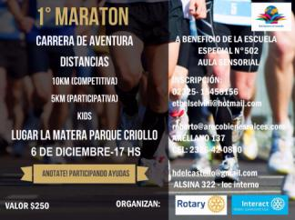 Folleto Maratón
