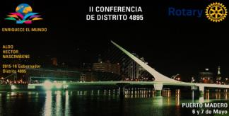 Banner II Conferencia Distrital