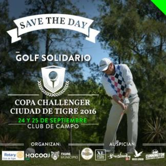 Banner Torneo de Golf a Beneficio