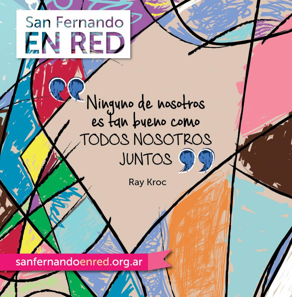Flyer San Fernando en Red