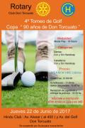 Flyer Torneo de Golf