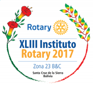 Logo XLIII Instituto Rotary 2017