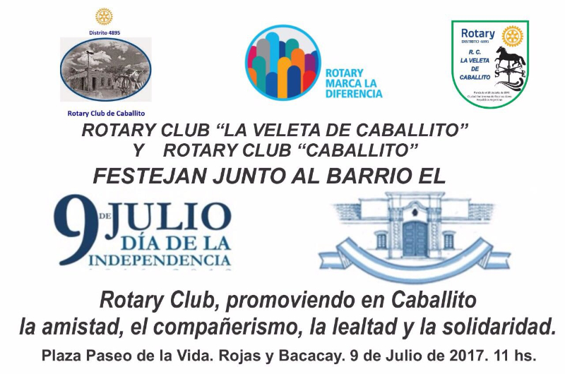 Invitación a Evento 9 de julio