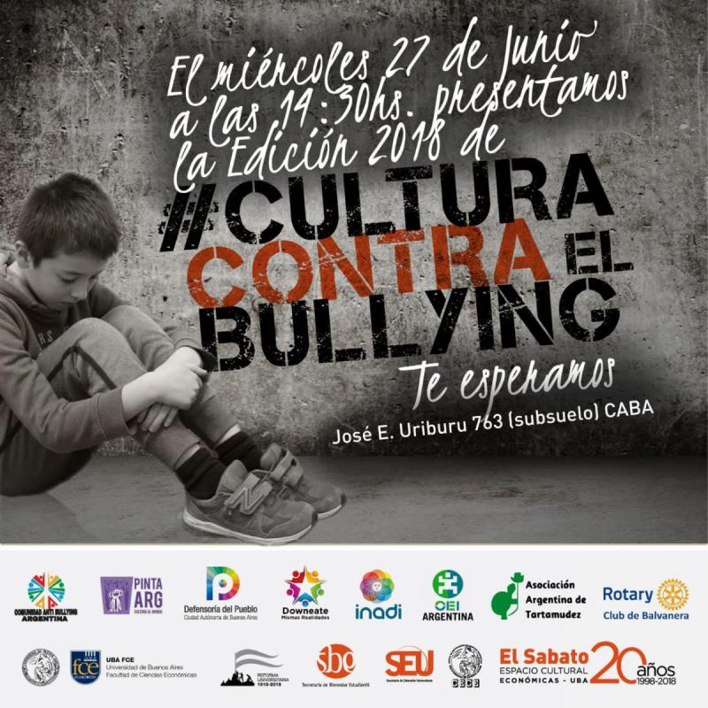 Flyer Cultura contra el Bullying