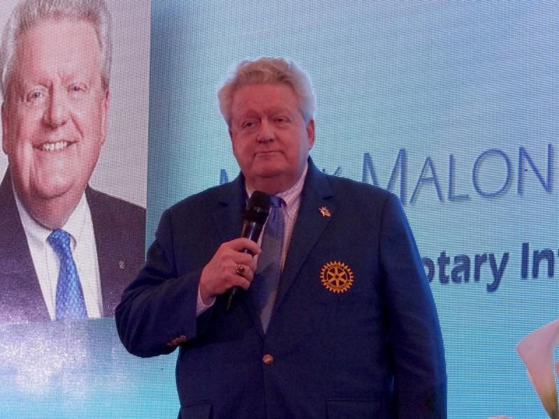 Presidente de RI Mark Maloney en XLV Instituto Rotary Buenos Aires 2019